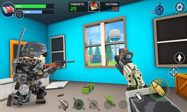 像素枪战狙击精英求生手机版_像素枪战狙击精英求生安卓版下载
