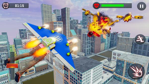 喷气背包飞行英雄手机版_喷气背包飞行英雄安卓版下载